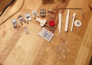 Husqvarna Viking Emerald 116 sewing machine accessories