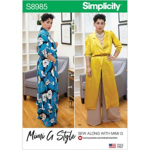 S8985 Misses' and Women's Mimi G Style Sportswear