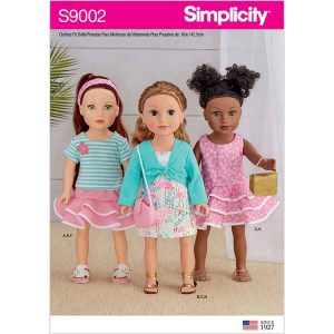 "S9002 18"" Doll Clothes"