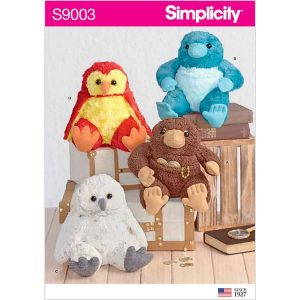 "S9003 8-1/2"" Stuffed Animals"
