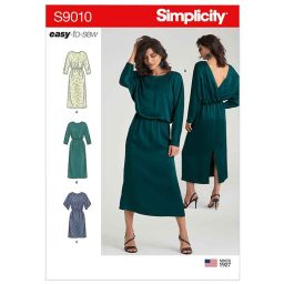 S9010 Misses' Dresses with Length Variation