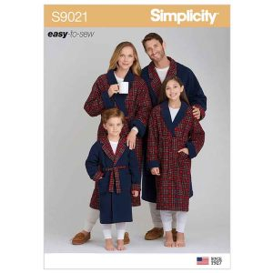 S9021 Children's, Teens' & Adults' Robe