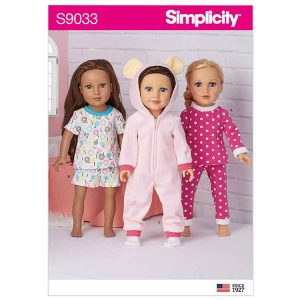 """S9033 18"""" Doll Clothes"""
