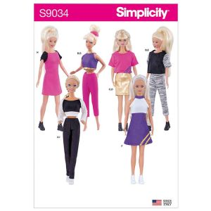"""S9034 11 1/2"""" Doll Clothes"""