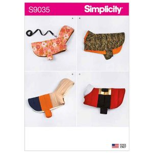 S9035 Quilted Dog Coats