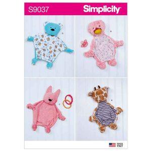 S9037 Baby Sensory Blankets