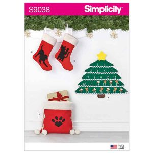 S9038 Holiday Countdown Calendar & Accessories