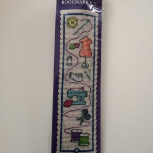 """Sewing"" bookmark cross-stitch embroidery kit"