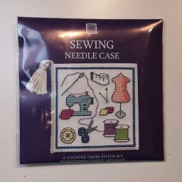 """Sewing"" needlecase cross-stitch embroidery kit"