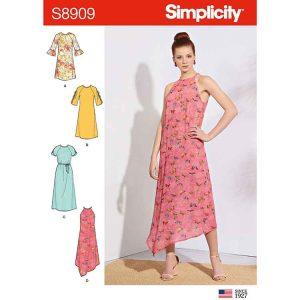 S8909 Misses' Dresses