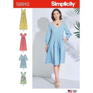 S8910 Misses' Dress