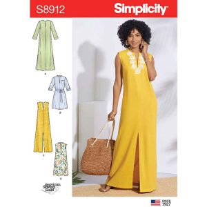 S8912 Misses' Dresses