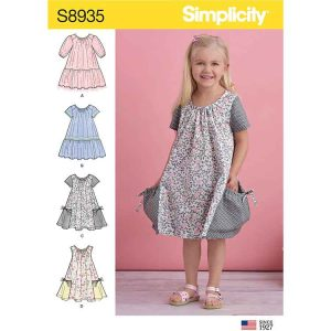 S8935 Children's Dresses