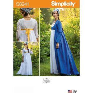 S8941 Misses' Costume