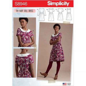 S8946 Misses' Dresses