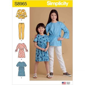 S8965 Children's and Girls' Separates