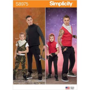 S8975 Boy's and Men's Costumes.
