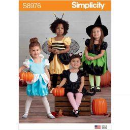 S8976 Toddler's Assorted Halloween Costumes