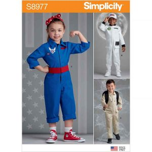 S8977 Children's American Figures Costumes