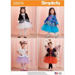 S8978 Toddlers' and Children's Halloween Costumes