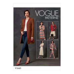 V1643 Misses'/Misses' Petite Jacket, Dress and Skirt
