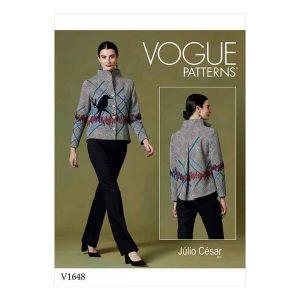 V1648 Misses' Jacket