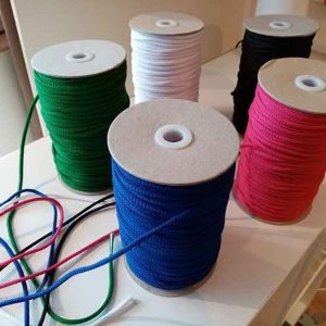 4mm polyester drawstring cord