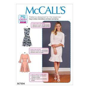 M7994 Misses' Women's Dresses