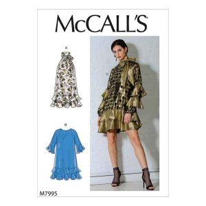 M7995 Misses' Dresses
