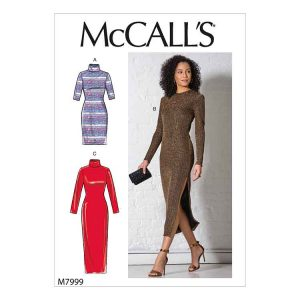 M7999 Misses' Dresses