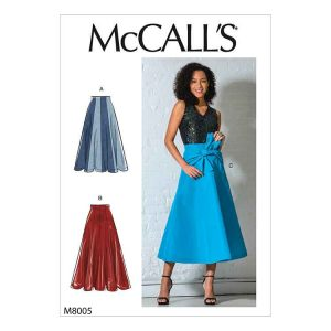 M8005 Misses' Skirts