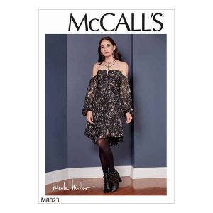 M8023 Misses' Dresses