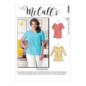 M8059 Misses'/Women's Pullover Tops and Tunics