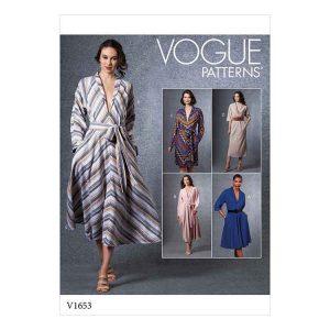 V1653 Misses' Dress