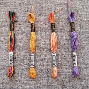 Anchor Stranded Cotton, 8m skein (multi-colour)
