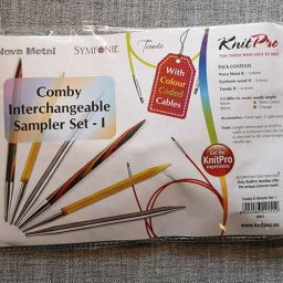 Knit Pro interchangeable sampler circular knitting needle set