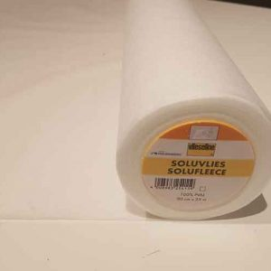 Solufleece Water Soluble embroidery backer