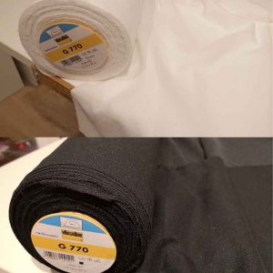Vlieseline bi-elastic universal fusible woven interfacing G770