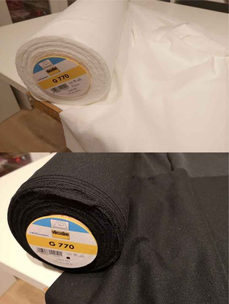 Vlieseline bi-elastic universal fusible woven interfacing G770