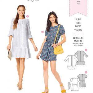Burda Style Pattern 6208 Misses' Dress