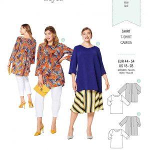 Burda Style Pattern 6214 Women's Top