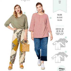 Burda Style Pattern 6217 Women's Top