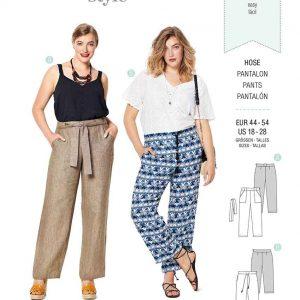 Burda Style Pattern 6218 Women's Trousers/Pants