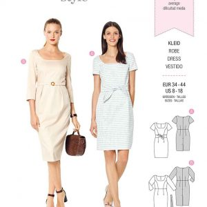 Burda Style Pattern 6220 Misses' Dress