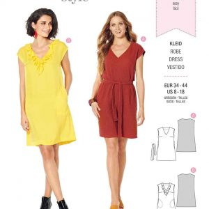 Burda Style Pattern 6221 Misses' Dress