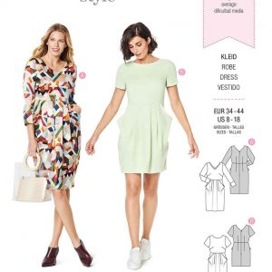 Burda Style Pattern 6224 Misses' Dress
