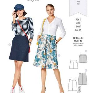Burda Style Pattern 6235 Misses' Skirt with Yoke