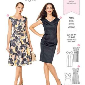 Burda Style Pattern 6236 Misses' Dress in Wrap Look