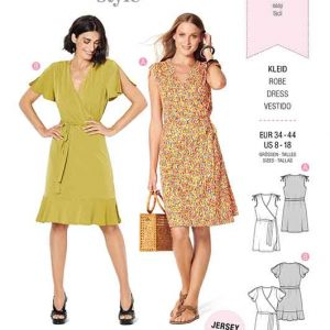 Burda Style Pattern 6238 Misses' Dress