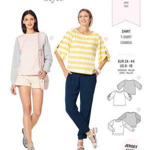 Burda Style Pattern 6246 Misses' Top